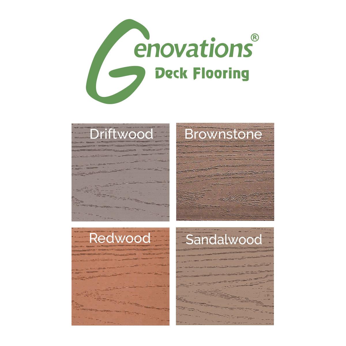 Genovations Fascia Board - Brownstone - 12 x 1/4 in - 12 ft