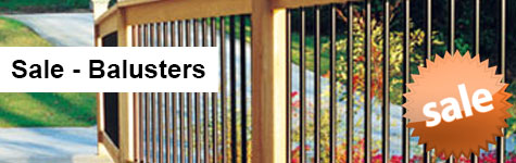 Sale Balusters Header Image