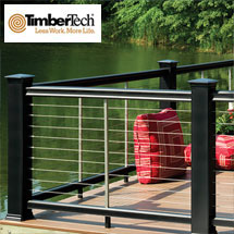 TimberTech CableRail System by Feeney