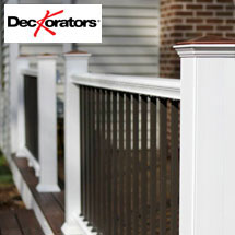 DecKorators CXT Cap-Stock Composite Railing