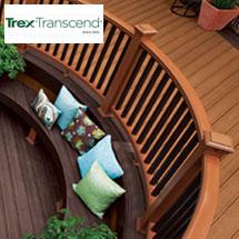 Trex Transcend Cap-Stock Composite Railing