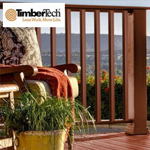 TimberTech Evolutions Rail - Contemporary Style Composite Railing