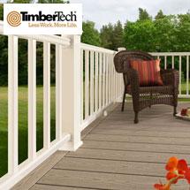 TimberTech RadianceRail Express Cap-Stock Composite Railing