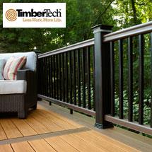 TimberTech RadianceRail Cap-Stock Composite Railing