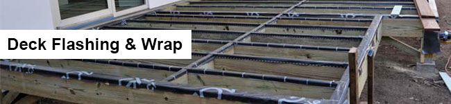 Deck Flashing and wrap Header Image