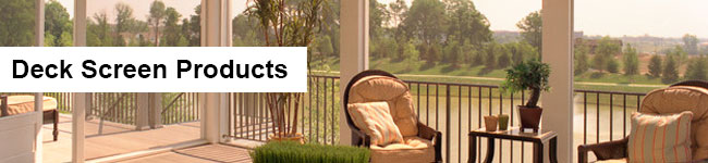 Deck Screen Products Header Image