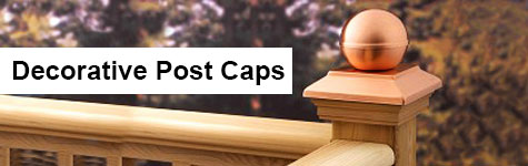 decorative post caps