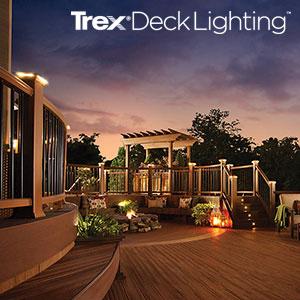 Trex LED Deck Lighting