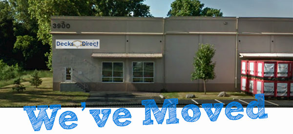 DecksDirect has moved