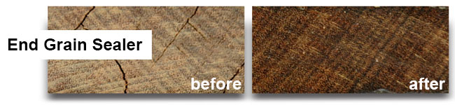End Grain Sealer Product Landing Header