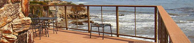 Railing Image Gallery - Feeney DesignRail - DecksDirect.com