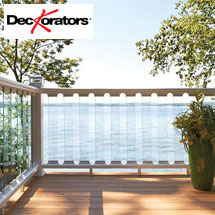 DecKorators CXT Railing with Glass Balusters