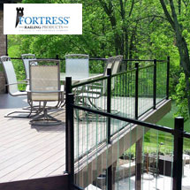 Fortress Pure-View Glass Railing System