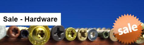 Hardware Sale Header Image