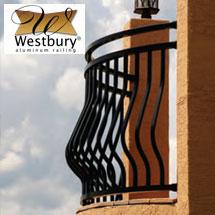 Westbury Montego Aluminum Rail System