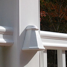 Shop deck rail lights