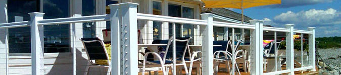 Shop Deck Cable Railing Systems Header Image