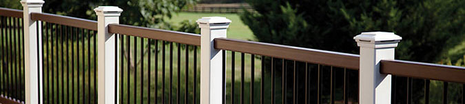 Shop Composite Deck Railing Systems Header Image