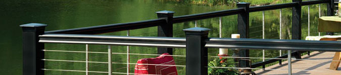 TimberTech CableRail Railing