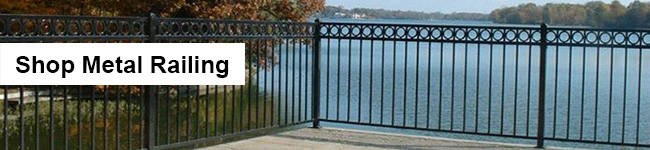 DecksDirect Metal Deck Railing