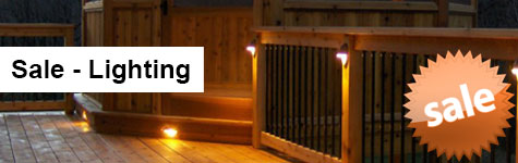 Deck Lighting Sale Header Image