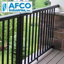 Afco Metal Deck Railing
