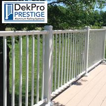 DekPro Prestige Aluminum Deck Railing