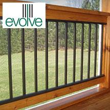 Evolve Aluminum Deck Railing
