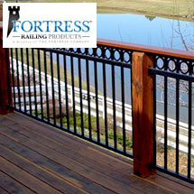 Fortress FE26 Iron Deck Railing