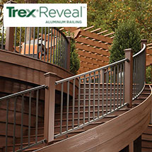 Trex Reveal Aluminum Deck Railing