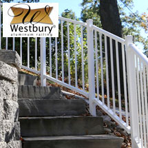 Westbury Liberty Aluminum Deck Railing