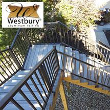 Westbury Aluminum Deck Railing