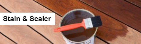 Stain and Sealer Header Image