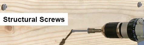 deck structural screws