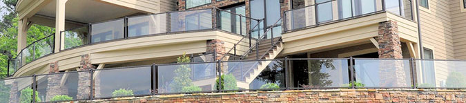 Westbury Veranda Glass Railing System