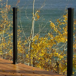 Century Scenic Glass Railing