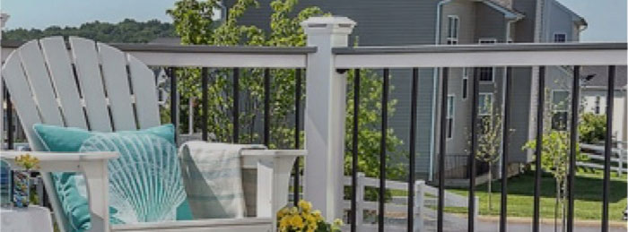 Trex Railing and metal balusters