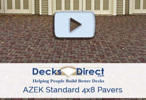 AZEK Standard 4x8 Pavers