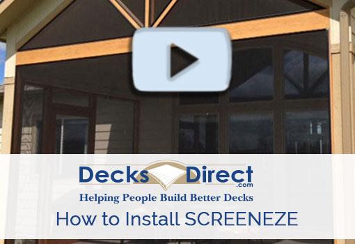 How to Install SCREENEZE