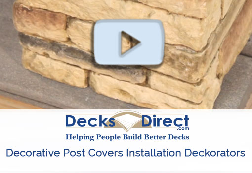 Deckorators post covers more information video