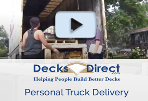Personal Truck Delivery for Your Order