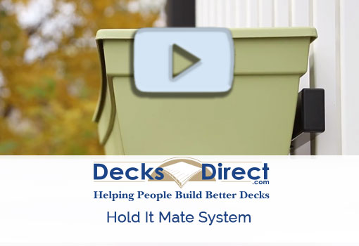 Product spotlight video on hold it mate railing accessories