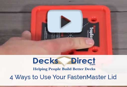 4 Ways to Use FastenMaster Lid