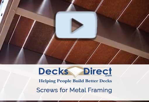 Screws for Metal Framing