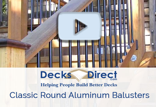 Deckorators classic round balusters more information video