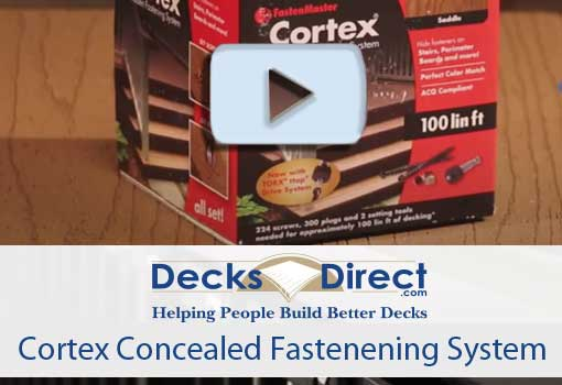 Cortex Hidden Fastening System Video Link