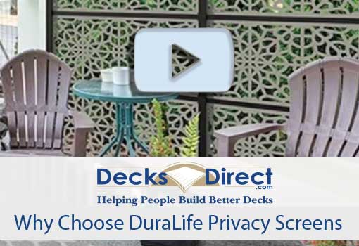 A privacy screen provide shade as well as block unwanted views