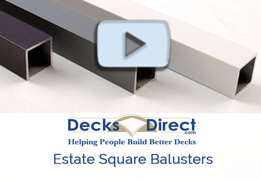 Deckorators estate square balusters more information video