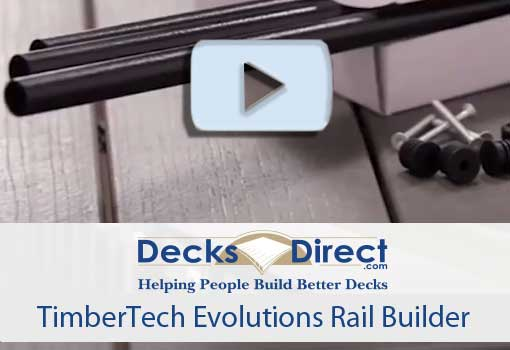 Evolutions Rail Builder ROund Metal Baluster Pack by Timbertech