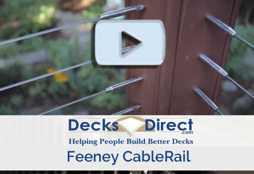 Feeney CableRail is a top seller in the cable rail category